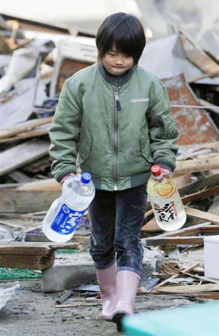 東日本大震災 少年