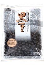 契約栽培北海道十勝産黒豆